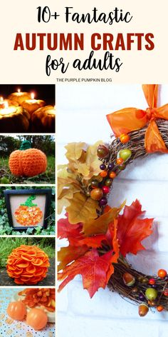 Fantastic Autumn Crafts for Adults to Make | Fall Crafts for Adults