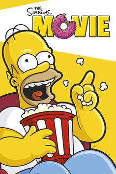 The Simpsons Movie - Homer Simpson Poster #thesimpsons #homersimpson #thesimpsonsmovie