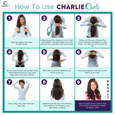 Charlie Curls On The Go No Heat Curler
