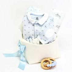 0497b1d28388 Little Prince Baby Basket. Baby Boy Gift ...