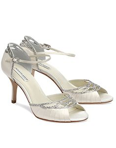 ed87a933a04 Stunning designer wedding shoes from www.weddingnites.co.uk Bridesmaid Shoes