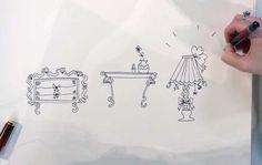 Leer de mooiste meubels tekenen.