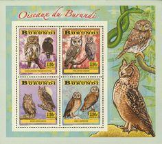 BUR 14103 cOwls Postage Stamps, Owls, Comic Books, Comics, Cover, Art, Art Background, Drawing Cartoons, Comic Book
