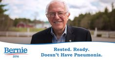 2016 U.S. American election Bernie Sanders Hillary Clinton funny meme humor ha lol fake campaign slogan related to events in NYC on 15th anniversary of 9/11 Democratic party Democrat nominee candidate