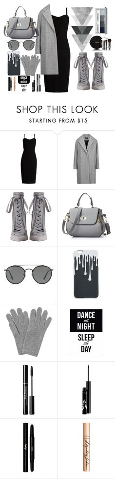 """Untitled #8"" by hanan-4 ❤ liked on Polyvore featuring MaxMara, rag & bone, Zimmermann, Ray-Ban, L.K.Bennett, Chanel, Yves Saint Laurent, Charlotte Tilbury and Clinique"