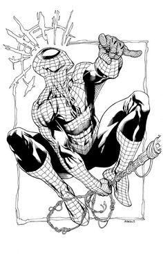 Spiderman by RobertAtkins on DeviantArt Spiderman Tattoo, Spiderman Drawing, Spiderman Spider, Amazing Spiderman, Marvel Drawings, Cartoon Drawings, Comic Books Art, Comic Art, Marvel Fan Art