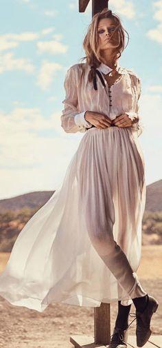 Blush Maxi Dress Boho Style