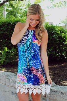 Paint It Colorful Dress