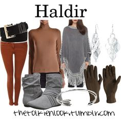 Haldir by thetolkienlook on Polyvore featuring D&G, Icône, Pilot, Report, Bling Jewelry, Isotoner and Vince Camuto