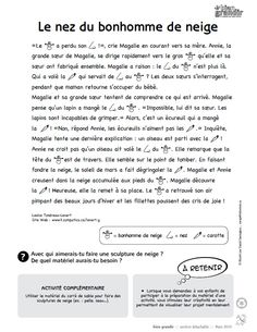 Le nez du bonhomme de neige : une histoire en texte et en images pour enfant de 1 à 5 ans. Téléchargez et imprimez le conte. #enfant #conte French Teacher, Teaching French, Teaching Writing, Reading Lessons, Reading Strategies, Reading Comprehension, French Basics, French Practice, French Worksheets