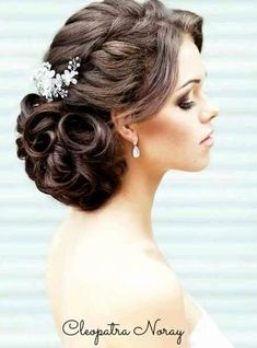 Hair Updos for Weddings - Hair Updos for Weddings , Wedding Hairstyles with Headband Best Bridal Hair Styles Medium Hair Styles, Curly Hair Styles, Natural Hair Styles, Updo Styles, Headband Hairstyles, Girl Hairstyles, Hair Updo, Hairstyle Ideas, Bridal Hairstyles