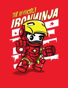 ninja superhero ironman pic on Design You Trust