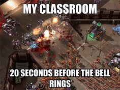 That Moment when you open gum in class - Everyday Zerg Rush ...
