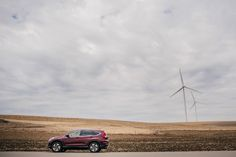 When the rubber meets the road, the Honda CR-V is the perfect travel companion. It even looks stunning beside windmills and hilly plains.