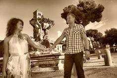 WEDDING PHOTOGRAPHER IN ROME & ITALY...NOT ONLY: An Afternoon in beautiful Rome  with Maria & Theo