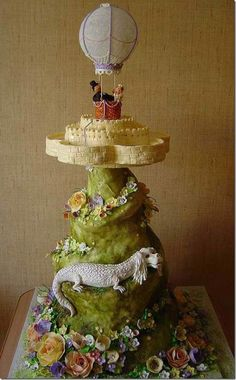 NeverEnding Story Wedding Cake