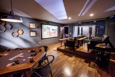 Discover expert home remodeling ideas from HGTV including expert tips for remodeling basements, home theaters, as well as other interior rooms. Best Home Theater, Home Theater Rooms, Home Theater Design, Basement Remodeling, Remodeling Ideas, Basement Ideas, Basement Flooring, Flooring Ideas, Small Home Theaters