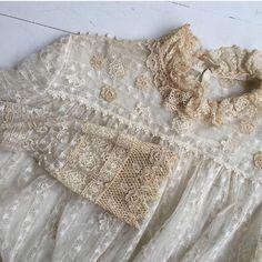 Edwardian lace blouse