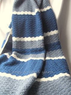 CROCHET - STRIPES (other) on Pinterest | Afghans, Crochet ...