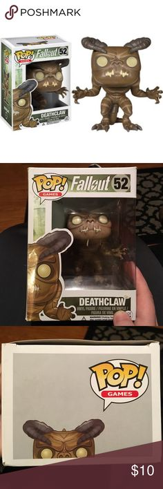 POP Figure Deathclaw from Fallout Pop Figure! Box is a little messed up! Price makes up for that! Open to Offers! No Trades! Funko Pop Other