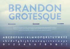 Brandon Grotesque Type Sample poster Brandon Grotesque, Font Family, Typography, Contemporary, Type, Poster, Design, Letterpress, Letterpress Printing