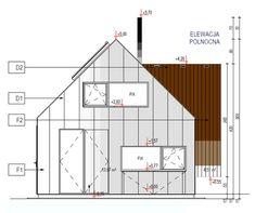 elewacje domów nowoczesnych Bar Chart, Floor Plans, Cabin, Building, Design, Exo, Cabins, Buildings, Cottage