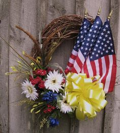 Support our Troops Wreath  www.facebook.com/LoveYourLifeAsAMilitaryWife