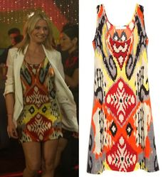Cameron Diaz other woman movie carly ikat tribal print dress OTHER WOMAN MOVIE FASHION PT 2: CAMERON DIAZS WARDROBE