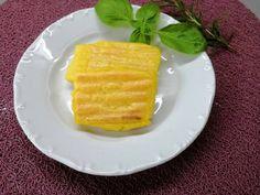 Sült puliszka, kukoricalisztből Polenta, Waffles, Pineapple, Mango, Cheese, Fruit, Breakfast, Food, Manga