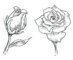 How to draw a rose tattoo. How to draw a rose tattoo style. How to draw a rose tattoo step by step. How to draw a rose tattoo. How to draw a traditional rose tattoo. How to draw a rose tattoo tutorial. Plant Drawing, Painting & Drawing, Wall Drawing, Love Drawings, Art Drawings, Realistic Drawings, Rose Bud Tattoo, Most Popular Flowers, Draw On Photos