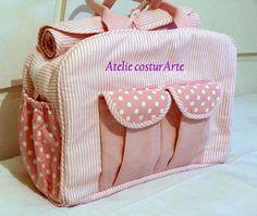 Bolsa de Bebê com trocador portátil | atelie costurarte | 22E4CA - Elo7