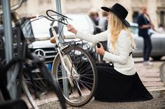 Milan Fashion Week Spring 2014 Street Style - Milan Fashion Week Spring 2014 Street Style, Day 1