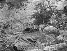 Slaughter Pen - Gettysburg, Pa - According to those in the know, this area is haunted by the ghost of a young girl who wears a white dress.