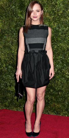 Look of the Day: December 5, 2012 - Christina Ricci : InStyle.com