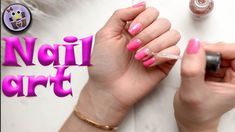 Today's video is about nail art, for beginners. It's very simple desing how to make beautiful nails. Nail Art Diy, Diy Nails, Nail Tutorials, Nail Art Designs, Nail Art Tutorials, Nail Designs