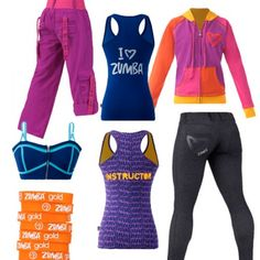 Zumba clothing Cute zumba clothes for when I get thin!  ;-)