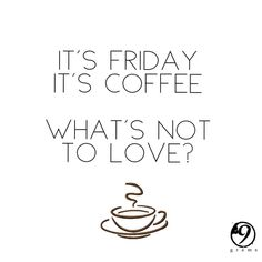 FRIYAY! We hope you're as excited for the weekend as we are!  #coffee #cafe #instacoffee #cafelife #caffeine #hot #mug #drink #coffeeaddict #coffeegram #coffeeoftheday #cotd #coffeelover #coffeelovers #coffeeholic #coffiecup #coffeelove #coffeemug #coffeeholic #coffeelife