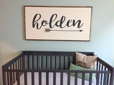 roughly 2ft x 4ft rustic wood framed sign with a custom name or word of your choosing - please leave in notes section at checkout the word of your choice! sign frame is flush and can easily be hung on the backing. background color is off white with charcoal lettering. colors are interchangeable. please note at check out if you would like to customize, otherwise colors will be as shown in above photos. this item is MADE-to-ORDER. please check the main shop page for current turnaround times…