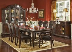 Elegant Dining Rooms   Chateau Formal Dining Room Collection love it  #Home #DiningRoom ༺༺  ❤ ℭƘ ༻༻