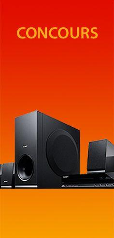 Gagnez un ensemble de son cinéma Sony. Fin le 4 février.  http://rienquedugratuit.ca/concours/gagnez-un-ensemble-de-son-cinema-sony/