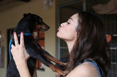 Actress Emmy Rossum partners with Windows 10 and Best Friends Animal Society as part of Upgrade Your World on August 21, 2015 in Los Angeles, California.