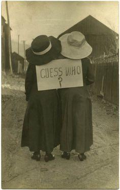 Guess Who, Hollidaysburg, Pennsylvania, 1911