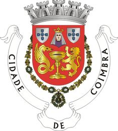 Municipality of Coimbra, Coimbra, Portugal (Area Km²) The Path Of Glory, High Middle Ages, City Logo, Flags Of The World, Chivalry, Coat Of Arms, Badge, Old Things, City Photography