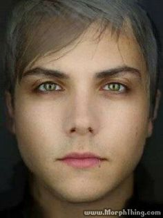 Frank iero and gerard way morphed together! Morphthing. com