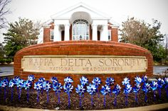 April is National Child Abuse Prevention Month. Kappa Delta proudly participates in Prevent Child Abuse America's Pinwheels for Prevention Campaign. The pinwheel is a symbol for child abuse and neglect prevention nationwide.