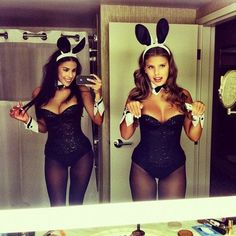 top-18-girl-best-friend-halloween-costume-design-unique-easy-holiday-project (10)