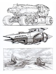 Misc Sketches by Scott-Robertson Sketch Concept Art Vehicle Book Drawing, Drawing Sketches, Sketching, Car Drawings, Scott Robertson, Futuristic Cars, Car Sketch, Art Graphique, Transportation Design