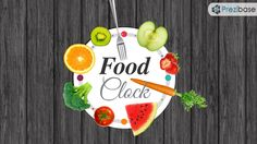 Food and eating healthy click time meal fitness prezi template
