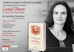 "Discutie despre ""Leonid Dimov. Un oniric in Turnul Babel""', de Luminita Corneanu"