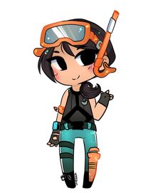 cute snorkel oops from fortnite battle royal Gaming Wallpapers, Cute Wallpapers, Ninja Turtle Coloring Pages, Cute Drawlings, Skin Drawing, Avatar, Epic Games Fortnite, Marvel Wallpaper, Beautiful Anime Girl
